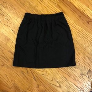 J Crew black Sidewalk Skirt